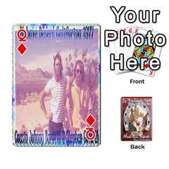Queen Steohen & Pamelas Cards  By Pamela Sue Goforth   Playing Cards 54 Designs   Rjq0zdgdkbnb   Www Artscow Com Front - DiamondQ