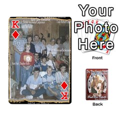 King Steohen & Pamelas Cards  By Pamela Sue Goforth   Playing Cards 54 Designs   Rjq0zdgdkbnb   Www Artscow Com Front - DiamondK