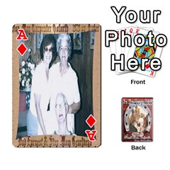Ace Steohen & Pamelas Cards  By Pamela Sue Goforth   Playing Cards 54 Designs   Rjq0zdgdkbnb   Www Artscow Com Front - DiamondA