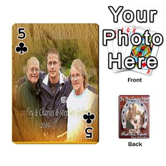 Steohen & Pamelas Cards  By Pamela Sue Goforth   Playing Cards 54 Designs   Rjq0zdgdkbnb   Www Artscow Com Front - Club5
