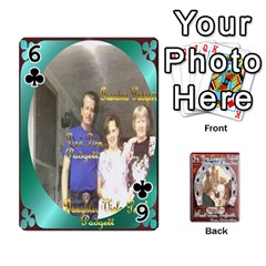 Steohen & Pamelas Cards  By Pamela Sue Goforth   Playing Cards 54 Designs   Rjq0zdgdkbnb   Www Artscow Com Front - Club6