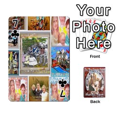 Steohen & Pamelas Cards  By Pamela Sue Goforth   Playing Cards 54 Designs   Rjq0zdgdkbnb   Www Artscow Com Front - Club7