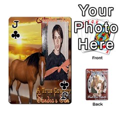 Jack Steohen & Pamelas Cards  By Pamela Sue Goforth   Playing Cards 54 Designs   Rjq0zdgdkbnb   Www Artscow Com Front - ClubJ