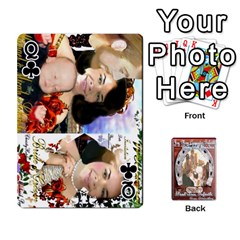Queen Steohen & Pamelas Cards  By Pamela Sue Goforth   Playing Cards 54 Designs   Rjq0zdgdkbnb   Www Artscow Com Front - ClubQ