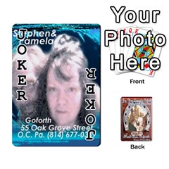 Steohen & Pamelas Cards  By Pamela Sue Goforth   Playing Cards 54 Designs   Rjq0zdgdkbnb   Www Artscow Com Front - Joker1