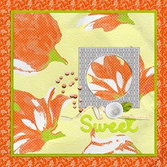 Sweet Spring Pages By One Of A Kind Design Studio   Scrapbook Page 12  X 12    Vhquwerbn62d   Www Artscow Com 12 x12 Scrapbook Page - 4