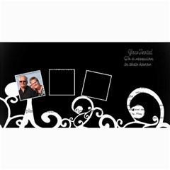 50 Wedding Invitation By Anita Kulbatski   4  X 8  Photo Cards   Ld0etp6m9r4p   Www Artscow Com 8 x4 Photo Card - 5