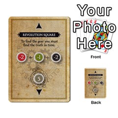 Aether Captains: Clockwork Cabal By Todd Sanders   Multi Purpose Cards (rectangle)   Vtxd0r9fkzjt   Www Artscow Com Front 25