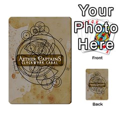Aether Captains: Clockwork Cabal By Todd Sanders   Multi Purpose Cards (rectangle)   Vtxd0r9fkzjt   Www Artscow Com Back 28