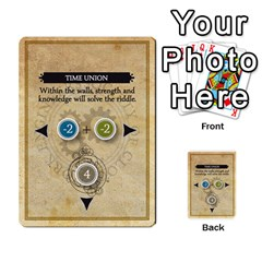 Aether Captains: Clockwork Cabal By Todd Sanders   Multi Purpose Cards (rectangle)   Vtxd0r9fkzjt   Www Artscow Com Front 29