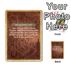 Aether Captains: Clockwork Cabal By Todd Sanders   Multi Purpose Cards (rectangle)   Vtxd0r9fkzjt   Www Artscow Com Front 34
