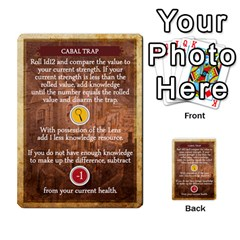 Aether Captains: Clockwork Cabal By Todd Sanders   Multi Purpose Cards (rectangle)   Vtxd0r9fkzjt   Www Artscow Com Front 47