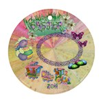 Easter 2011 Round Pastel Ornament - Ornament (Round)