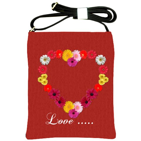 Love Sling Bag By Elena Petrova   Shoulder Sling Bag   Q5b60gs5qn85   Www Artscow Com Front