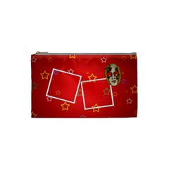 Carnival Cosmetic Bag (s) By Elena Petrova   Cosmetic Bag (small)   55bbujqbnsg8   Www Artscow Com Front