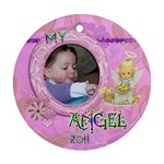 My Angel 2011 Round Pastel Ornament - Ornament (Round)