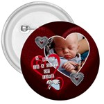 A Baby is a Gift of Love 3  Button