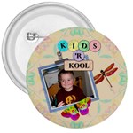 Kids  r Kool 3  Button