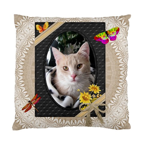 Natures Pretty Cushion Case By Lil    Standard Cushion Case (one Side)   8ch887s0ztiw   Www Artscow Com Front