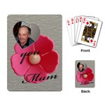 For Mum Playing Cards - Playing Cards Single Design