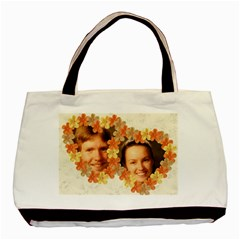 Hibiscus Love 2 Sided Classic Tote By Deborah   Basic Tote Bag (two Sides)   2wlk51722qy5   Www Artscow Com Front