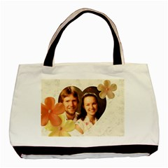 Hibiscus Love 2 Sided Classic Tote By Deborah   Basic Tote Bag (two Sides)   2wlk51722qy5   Www Artscow Com Back