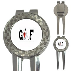 3-in-1 Golf Divot by Golfersshack