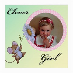 Clever Girl (2sides) By Deborah   Medium Glasses Cloth (2 Sides)   6dpcyivcdzf7   Www Artscow Com Front
