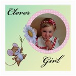 Clever girl (2sides) - Glasses Cloth (Medium, Two Sides)