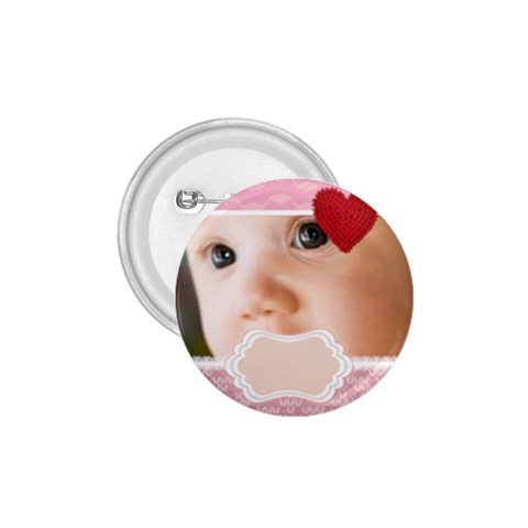 Pink Baby By Joely   1 75  Button   H03bzapgtzlo   Www Artscow Com Front