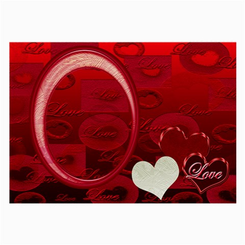 I Heart You Red Large Glass Cloth By Ellan   Large Glasses Cloth   Tg9x752cx2e0   Www Artscow Com Front