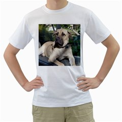 Big Mutts By S  Lury   Men s T Shirt (white) (two Sided)   Uxc6ffgfd70r   Www Artscow Com Front