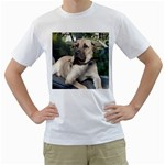 Big Mutts - Men s T-Shirt (White) (Two Sided)