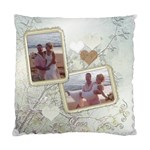 Love white wedding cushion case - Standard Cushion Case (One Side)
