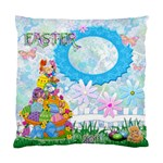 Easter 2011 Baby  Cushion Case - Standard Cushion Case (One Side)