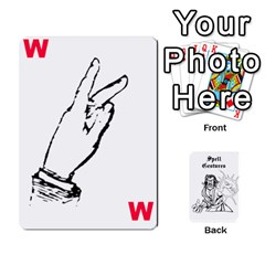 Wavinghands Spell Gesture Cards By Walt O hara   Playing Cards 54 Designs   Df9dq1w9ss5j   Www Artscow Com Front - Heart6