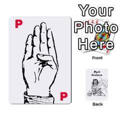 WavingHands spell gesture cards by Walt O Hara Front - Diamond8