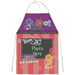 Grandmas never run out of hugs or cookies - apron - Full Print Apron