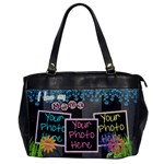 I love my mama purse - Oversize Office Handbag (One Side)