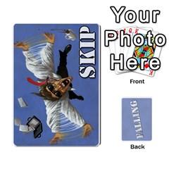 Jack Falling By James Ernest   Playing Cards 54 Designs   Bptcoj2l1kn7   Www Artscow Com Front - ClubJ