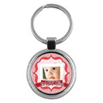 baby girl - Key Chain (Round)