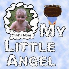 My Little Angel Boy 8x8 By Chere s Creations   Scrapbook Page 8  X 8    8av04ibone2x   Www Artscow Com 8 x8 Scrapbook Page - 1