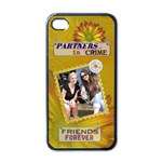 Friends Forever Apple iPhone 4 Case - Apple iPhone 4 Case (Black)