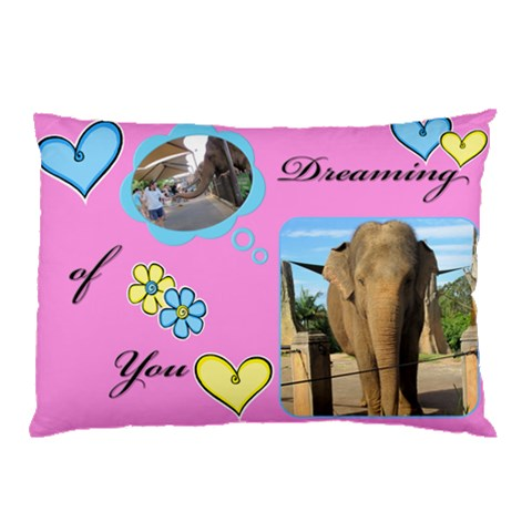 Dreaming Pillow Case By Deborah   Pillow Case   1ish2ldxrzov   Www Artscow Com 26.62 x18.9 Pillow Case