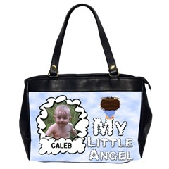 My Little Angel Large Bag Double Sided By Chere s Creations   Oversize Office Handbag (2 Sides)   Np338ns5qnos   Www Artscow Com Front