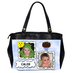 My Little Angel Large Bag Double Sided By Chere s Creations   Oversize Office Handbag (2 Sides)   Np338ns5qnos   Www Artscow Com Back