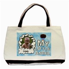 My Little Angel Boy Two Sided Bag By Chere s Creations   Basic Tote Bag (two Sides)   Ps26ziwor1b4   Www Artscow Com Front