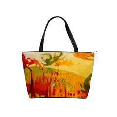 Fall Art Shoulder Bag By Bags n Brellas   Classic Shoulder Handbag   33lekrw1gemd   Www Artscow Com Front