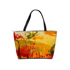 Fall Art Shoulder Bag By Bags n Brellas   Classic Shoulder Handbag   33lekrw1gemd   Www Artscow Com Back