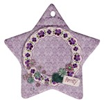 Family, star ornament - Ornament (Star)